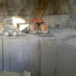 escavazione marmo bianco carrara